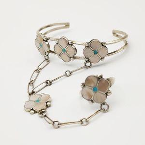 COPY - Sterling Silver Navajo Bracelet